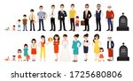 character with human life... | Shutterstock .eps vector #1725680806