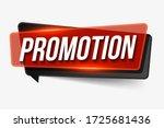 Promotion  Sign. Promotion...