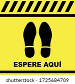 please wait here decals or... | Shutterstock .eps vector #1725684709