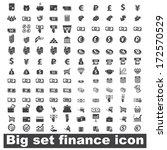 money set icon on white... | Shutterstock .eps vector #172570529