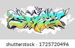 Colorful Wildstyle Graffiti...