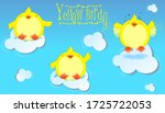 Yellow Birdy. Cute Bird...