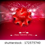 greeting card valentines day... | Shutterstock .eps vector #172575740