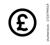 Pound Currency Coin Black For...