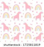 vector seamless pattern of... | Shutterstock .eps vector #1725811819