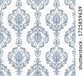 damask seamless pattern element....