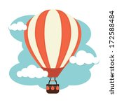 activity,adventure,air,balloon,basket,brown,cartoon,clouds,creative,design,drift,float,fly,graphic,green