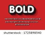 modern styled 3d trendy set of...   Shutterstock .eps vector #1725898540