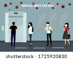 a vector design concept of... | Shutterstock .eps vector #1725920830