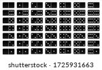 creative vector domino full set ... | Shutterstock .eps vector #1725931663