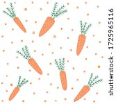 seamless pattern on the fabric. ... | Shutterstock .eps vector #1725965116