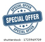 special offer stamp. special... | Shutterstock .eps vector #1725969709