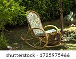 Vintage Rocking Chair In The...