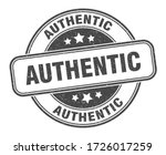 authentic stamp. authentic...   Shutterstock .eps vector #1726017259