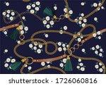 Daisy Pattern Vector Design...