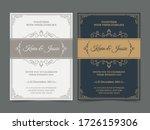 luxury vintage golden vector... | Shutterstock .eps vector #1726159306
