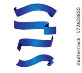 blue ribbon | Shutterstock . vector #172623830