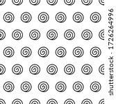 spiral seamless pattern.... | Shutterstock .eps vector #1726264996