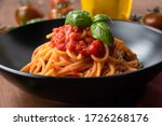 Classic Tomato And Basil Pasta...