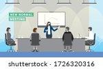 business crisis loss profit.... | Shutterstock .eps vector #1726320316