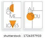 all of me loves all of you ...   Shutterstock .eps vector #1726357933