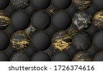 luxury paper cut background ... | Shutterstock .eps vector #1726374616