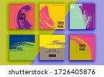 set of sale banner template... | Shutterstock .eps vector #1726405876