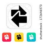 interchange icon. vector...   Shutterstock .eps vector #172646573