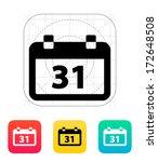 calendar date icon. vector...