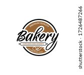 bakery  cupcakes and deserts... | Shutterstock .eps vector #1726487266
