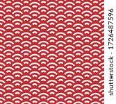 wave pattern art style... | Shutterstock .eps vector #1726487596
