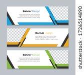 vector abstract design banner...   Shutterstock .eps vector #1726514890