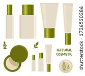flat illustration. natural skin ... | Shutterstock . vector #1726530286