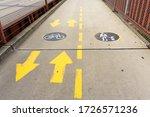 Big Concrete Pathway That...