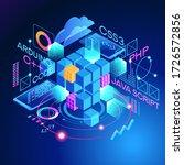 programming web banner. best... | Shutterstock .eps vector #1726572856