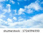 Beautiful View Of Blue Sky With ...