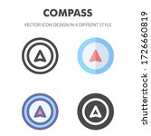 compass icon. for your web site ...