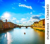Florence Or Firenze  Ponte...