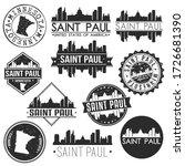 saint paul minnesota usa... | Shutterstock .eps vector #1726681390