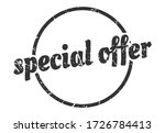 special offer sign. special... | Shutterstock .eps vector #1726784413