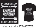 chemical engineering  t shirt... | Shutterstock .eps vector #1726807573
