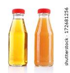 baby food  juices  in glass...   Shutterstock . vector #172681256
