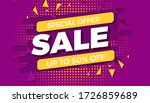 special offer sale template.... | Shutterstock .eps vector #1726859689
