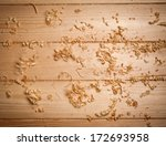 Woodchips  Shavings  On Wooden...