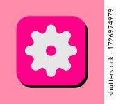 gear vector illustration icon.... | Shutterstock .eps vector #1726974979