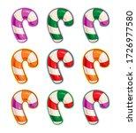 vector cartoon icon set of...   Shutterstock .eps vector #1726977580