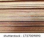 Solid Wood Panels Cut. Plywood...