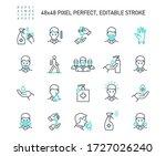 simple set of coronavirus...   Shutterstock .eps vector #1727026240