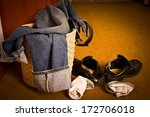 the clothes are not wash | Shutterstock . vector #172706018