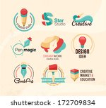 creative design badges | Shutterstock .eps vector #172709834